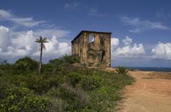 Historic ruin in Cabo de Santo Agostinho region - stock photo