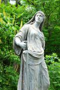 War goddess - stock photo