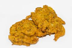 Onion bhaji Stock Photos