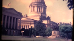 Washington State Capitol Building Stock Footage