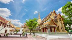 Wat Ratchabopit Sathitmahasimaram Ratchaworawihan Stock Footage