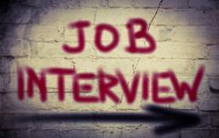 Job Interview Concept Piirros