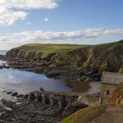 Lizard point Old Lifeboat Station Stock Photos