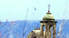 Video of an old Maronite Christian church shot in Israel. - stock footage