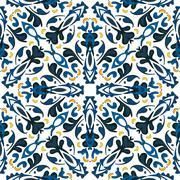 Portuguese tiles Stock Illustration