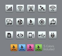Connectivity Icons -- Satinbox Series Piirros