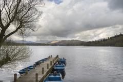 Lake Windermere - stock photo