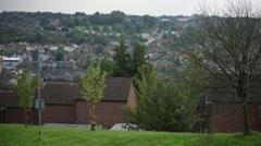 European suburbia: High Wycombe, England, Europe - stock footage