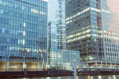 background of modern sky glass building  - stock photo