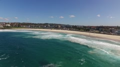 Bondi Beach Drone Aerial Stock Footage