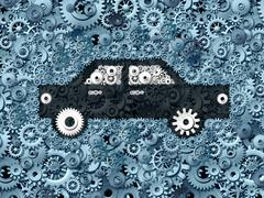 Stock Illustration of Automobile Business
