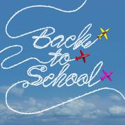 Back to School Celebration Stock Illustration
