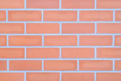 Weathered stained old brick wall background. - stock photo