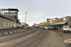 Cityscape of Swakopmund, Namibia - stock photo