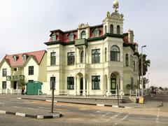 Hohenzollern House - Namibia, Africa - stock photo