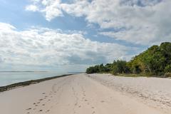 Magaruque Island - Mozambique - stock photo