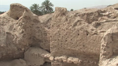 The Ruins of Biblical Tel Jericho Palestinian Territories Stock Footage