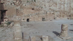 The Ancient Herodium, Herod the Great's home Stock Footage