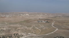 Israeli Desert- Judea/ West Bank Stock Footage