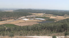 Valley of Elah (David and Goliath) in ISRAEL Stock Footage
