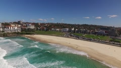 Bondi Beach Drone Aerial (3) Stock Footage