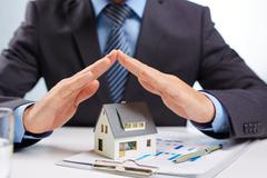 Protection of house Stock Photos