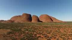 The Olgas Kata Tjuta Northern Territory Stock Footage