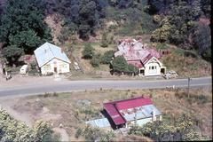 Walhalla, Victoria, Australia 1960's - stock photo