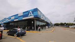 Simferopol Airport - stock footage