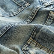 Stock Photo of denim design of fashion jeans textile