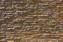 brick wall interior decoration wallpaper of house - stock photo