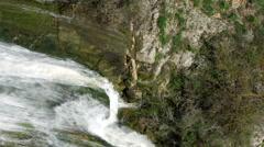 Stock Video Footage of Video of top of Tahana Waterfall shot in Israel.