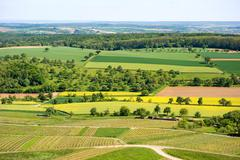 Kraichgau landscape - stock photo