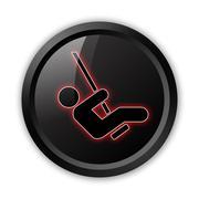 Icon, Button, Pictogram Playground Stock Illustration