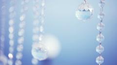 Flashing crystal Stock Footage