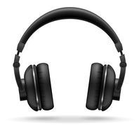 Acoustic headphones vector illustration Stock Illustration