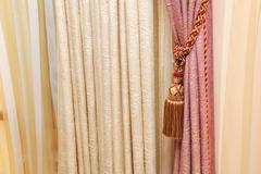 hangings, drapes and curtains - stock photo