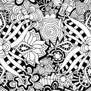 Ornament Pattern Stock Illustration