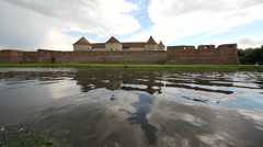 Castle, fortress, water  Stock Footage