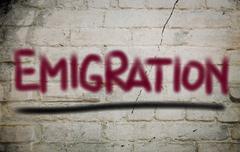 Migration Concept - stock illustration