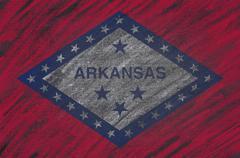 Arkansas blackboard. - stock illustration