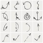 arrows - stock illustration