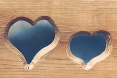 Symbol of love. - stock photo