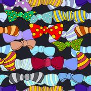 Colorful tie Stock Illustration