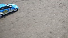 Stock Video Footage of Radio controlled car Chevrolet in Moscow, Russia.
