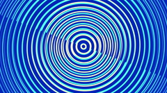 blue abstract background, rotating spiral, loop - stock footage