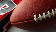 4K: Football Season Background Stock Footage