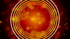 red abstract background, rotating spiral, loop - stock footage