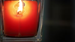 Candle Light - stock footage