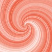 Abstract spiral background in orange and white Stock Illustration
